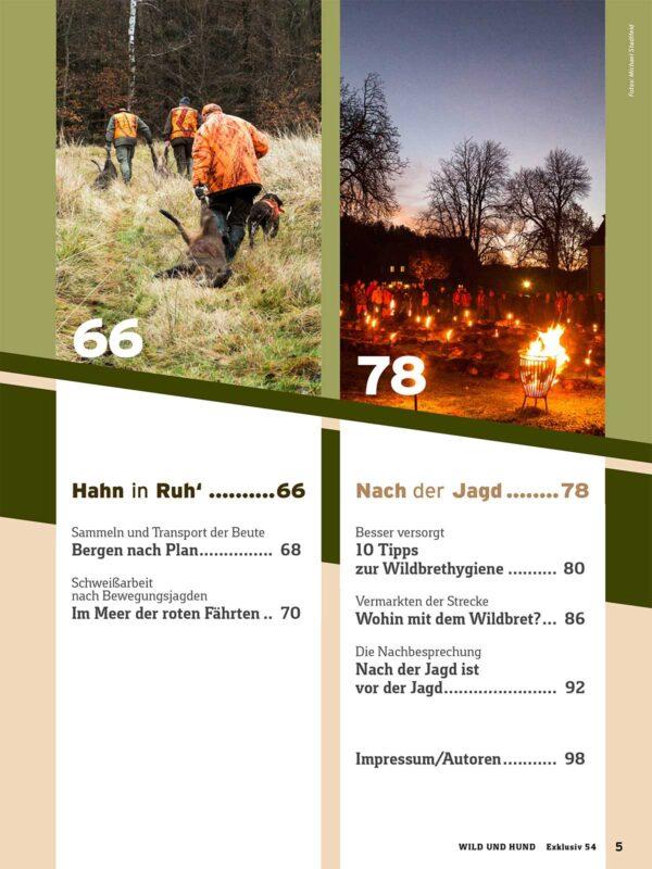 WILD UND HUND Exklusiv Nr. 54: Bewegungsjagd – Tipps und Tricks für einen erfolgreichen Jagdtag im Pareyshop