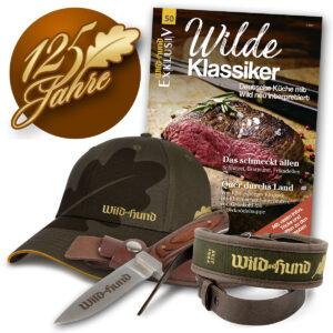 125-Jahre Paket WILD UND HUND mit Messer im Pareyshop