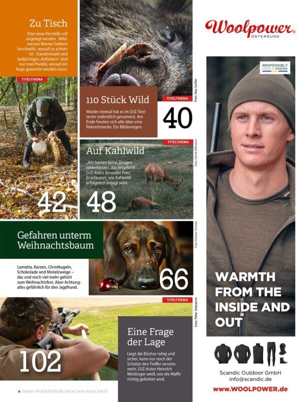 Deutsche Jagdzeitung 2019/12 im Pareyshop