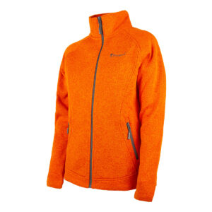 Pinewood Damen-Fleecejacke Gabriella vibrant Orange meliert im Pareyshop