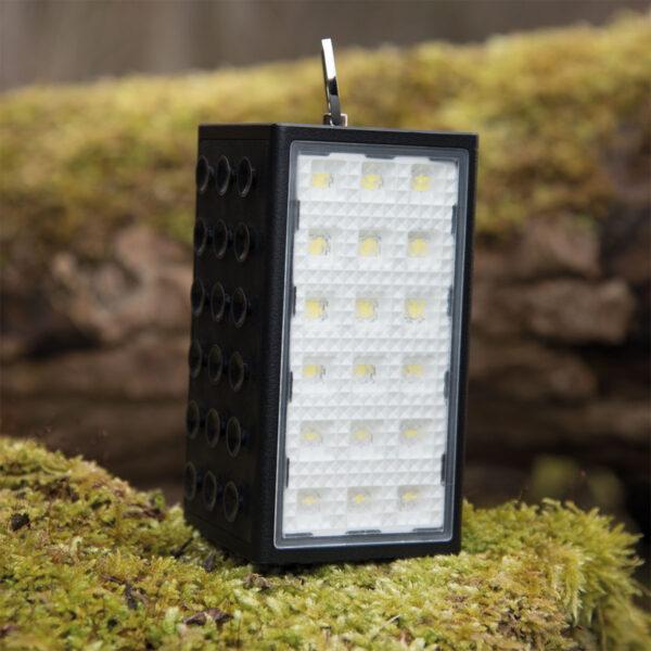 DÖRR Solar Powerbank mit Leuchte SL-10600 schwarz im Pareyshop