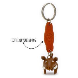 Monkimau Schlüsselanhänger Wildschwein