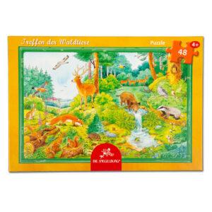 Boxpuzzle Treffen der Waldtiere im Pareyshop