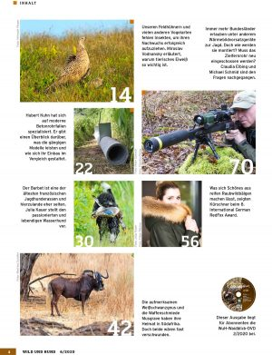 Wild und Hund 2020/06 im Pareyshop
