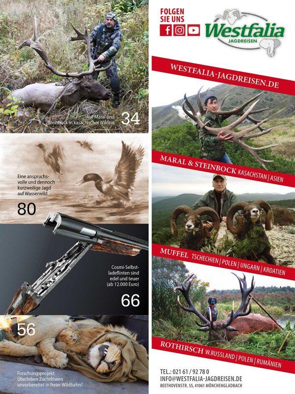 Jagen Weltweit 2020/02 im Pareyshop