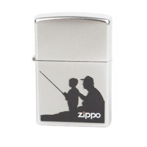Zippo Feuerzeug Angler Vater und Sohn im Pareyshop