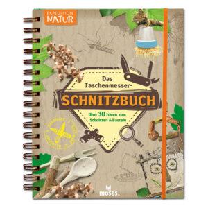 Expedition Natur – Das Taschenmesser Schnitzbuch im Pareyshop
