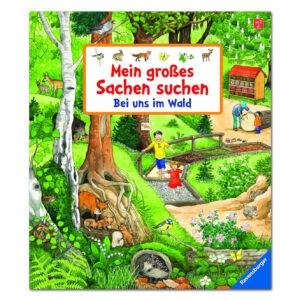 Mein großes Sachen suchen: Bei uns im Wald im Pareyshop