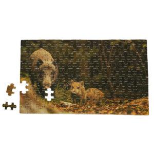 Puzzle Wildschwein im Pareyshop