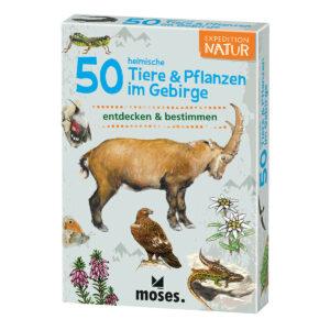 Expedition Natur: 50 heimische Tiere & Pflanzen im Gebirge im Pareyshop