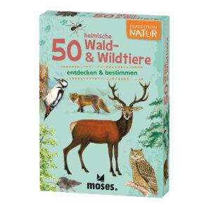 Expedition Natur: 50 heimische Wald- & Wildtiere im Pareyshop