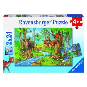 Puzzle: Tiere des Waldes im Pareyshop
