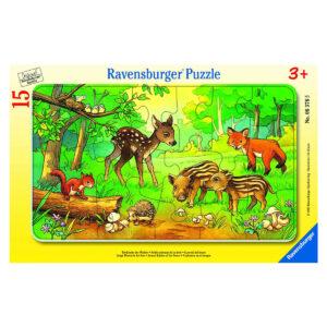 Puzzle: Tierkinder des Waldes im Pareyshop