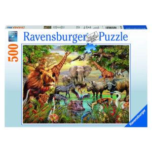Puzzle: Am Wasserloch im Pareyshop