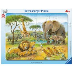 Puzzle: Afrikas Tierwelt im Pareyshop