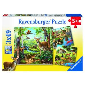 Puzzle: Wald-/Zoo- und Haustiere im Pareyshop