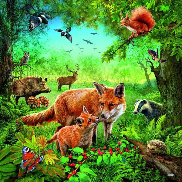 Puzzle: Tiere der Erde im Pareyshop