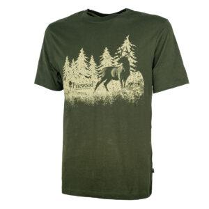 Pinewood T-Shirt Hunting Grün im Pareyshop