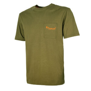 Pinewood T-Shirt Fishing Oliv im Pareyshop