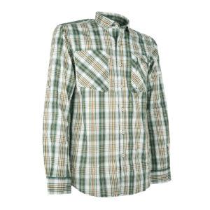 Pinewood Herren-Hemd Glenn Weiß/Grün im Pareyshop