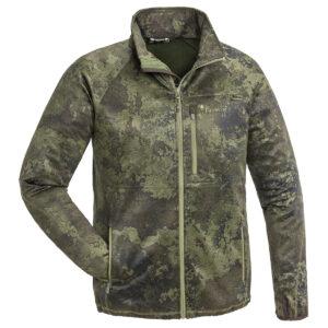 Pinewood Herren-Sweater Frazer Camo Jagdoliv-Strata im Pareyshop