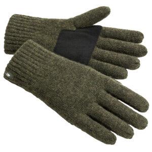 Pinewood Handschuhe Wool Knitted Moosgrün Meliert im Pareyshop