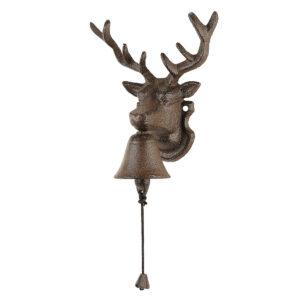Glockengong Hirsch aus Gusseisen im Pareyshop