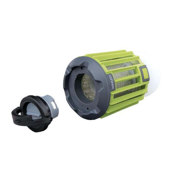 DÖRR LED Campinglampe Anti-Moskito MX-9 neongrün im Pareyshop