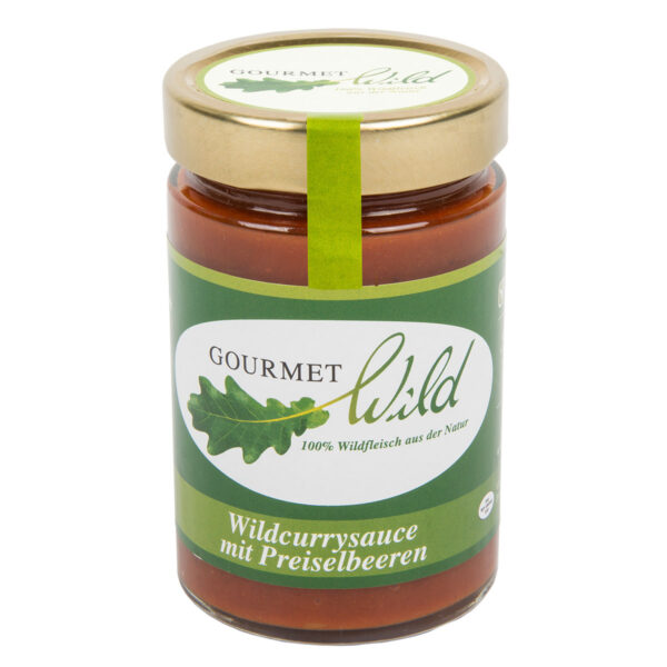 GOURMET WILD - Currysauce mit Wildpreiselbeeren im Pareyshop