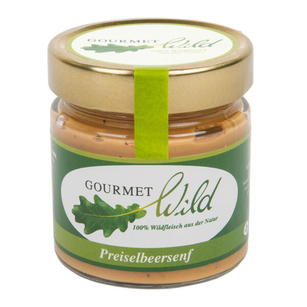 GOURMET WILD - Preiselbeersenf im Pareyshop