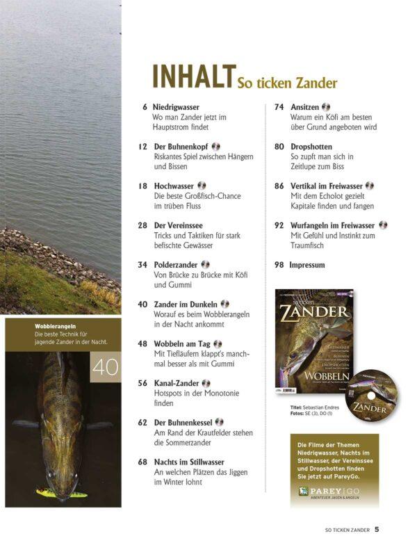 FISCH & FANG Sonderheft Nr. 45: So ticken Zander im Pareyshop
