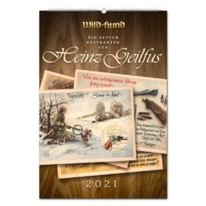 WILD UND HUND Edition: Die besten Postkarten von Heinz Geilfus Kalender 2021 im Pareyshop