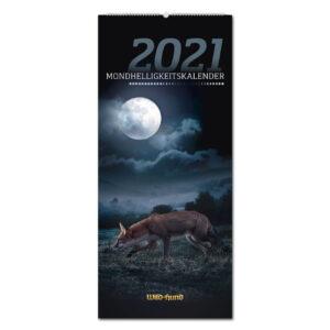 WILD UND HUND Edition: Mondhelligkeitskalender 2021 im Pareyshop