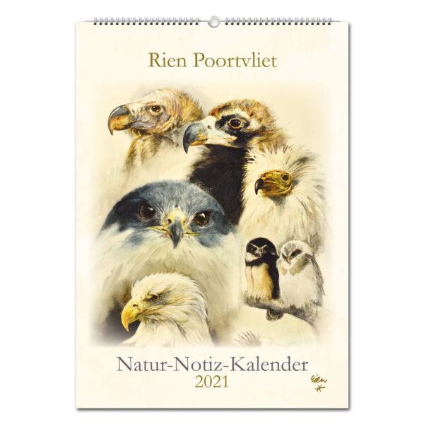 Rien Poortvliet Natur-Notiz-Kalender 2021 im Pareyshop