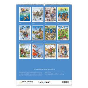 FISCH & FANG Edition: Best of Klavinius Kalender 2021 im Pareyshop