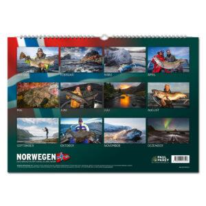 FISCH & FANG Edition: Norwegen Kalender 2021 im Pareyshop