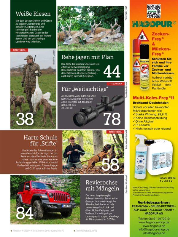 Deutsche Jagdzeitung 2020/07 im Pareyshop