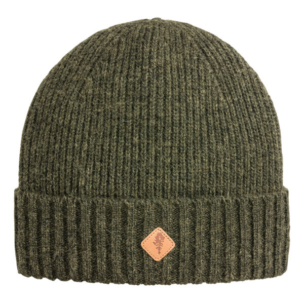 Pinewood Mütze Wool Knitted Moosgrün Meliert (194) im Pareyshop