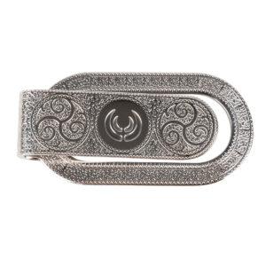 KEYLER Geldscheinklammer Silber/Rodiniert Intasien im Pareyshop