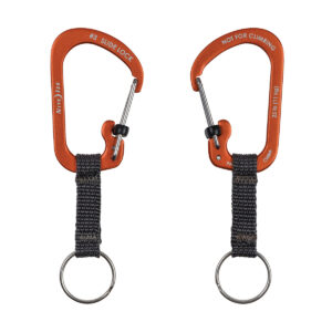 Nite Ize SlideLock Key Ring Aluminum orange im Pareyshop