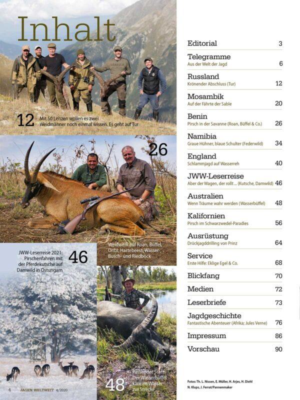 Jagen Weltweit 2020/04 im Pareyshop