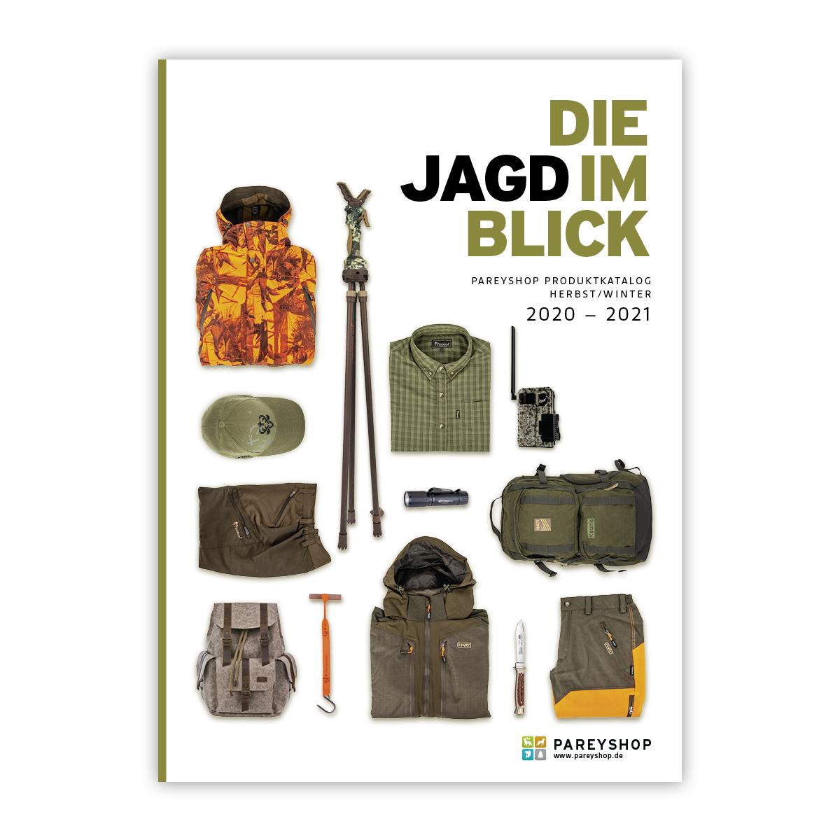 "Produktkatalog ""Die Jagd im Blick"" 2020/2021 im Pareyshop"