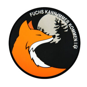 Jagdstolz Patch Fuchs kann immer kommen im Pareyshop