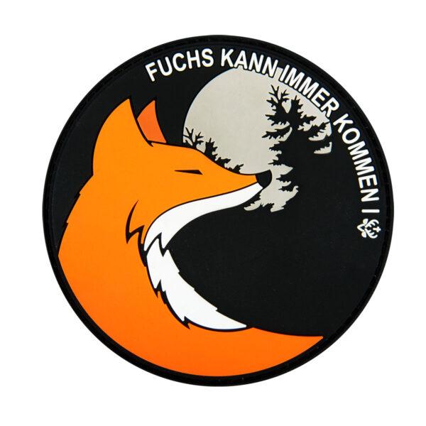 "Jagdstolz Patch ""Fuchs kann immer kommen"" im Pareyshop"