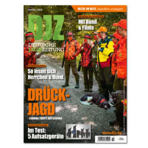 Deutsche Jagdzeitung 2020/10 im Pareyshop