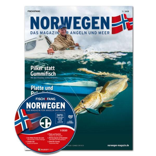Norwegen-Magazin 1/20 + DVD im Pareyshop