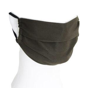 Mund-Nasen-Masken Jagdgrün (5er Pack) im Pareyshop