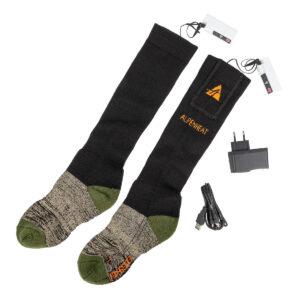 "Alpenheat Beheizte Socke ""Fire Sock"" AJ27 schwarz/grün im Pareyshop"