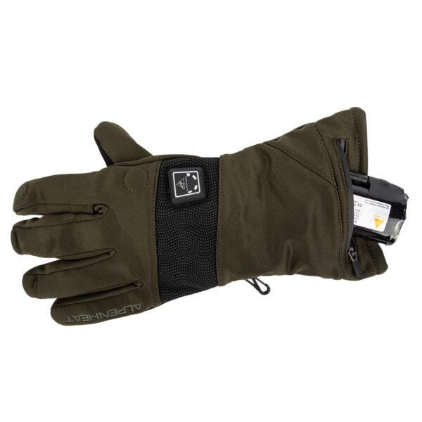 "Alpenheat Beheizbare Handschuhe ""Fire Hunting"" AG21 grün im Pareyshop"