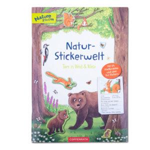 Natur-Stickerwelt: Tiere in Wald & Wiese im Pareyshop